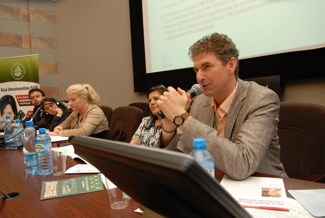 Jacek Murawski z Venture Partner/Internet Venture Fund Manager (MCI Group), przedstawił studium przypadku inwestycji w firmę z sektora MŚP