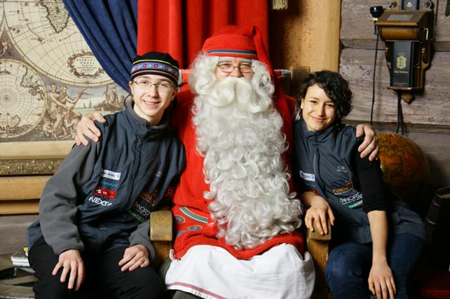 Danyah, Adrian i jakiś Lapończyk