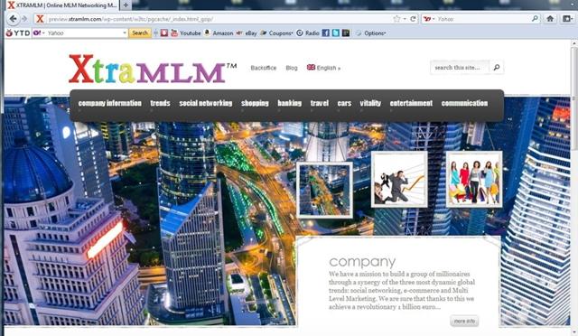Xtra MLM czyli pomysł Crydon Holdings Ltd.