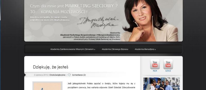 Blog Doroty Madejskiej (www.dorotamadejska.pl)