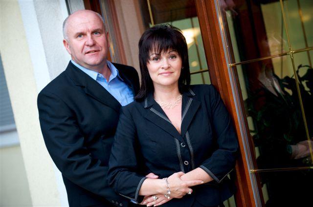 Mariusz Biskupski i Wioletta Grzybowska
