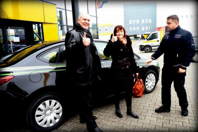 Mariusz Biskupski, Wioletta Grzybowska i Tomasz Kwolek