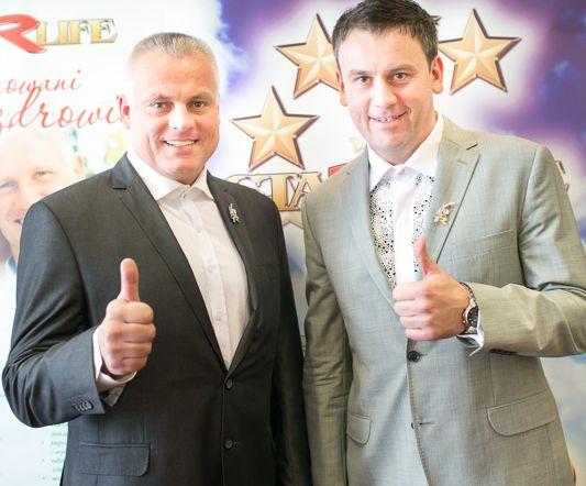 Robert Změlik i Krzysztof Szymala