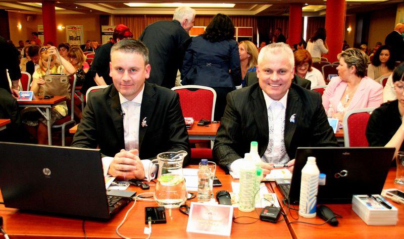 Krzysztof Szymala i Robert Změlik