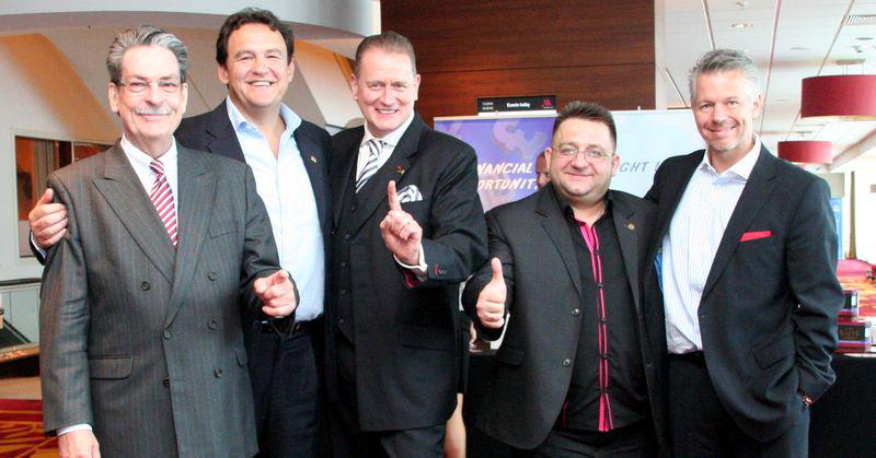 Od lewej: Michael Strachowitz, Edward Ludbrook, Udo Carsten Deppich, Maciej Maciejewski i Martin Geiger
