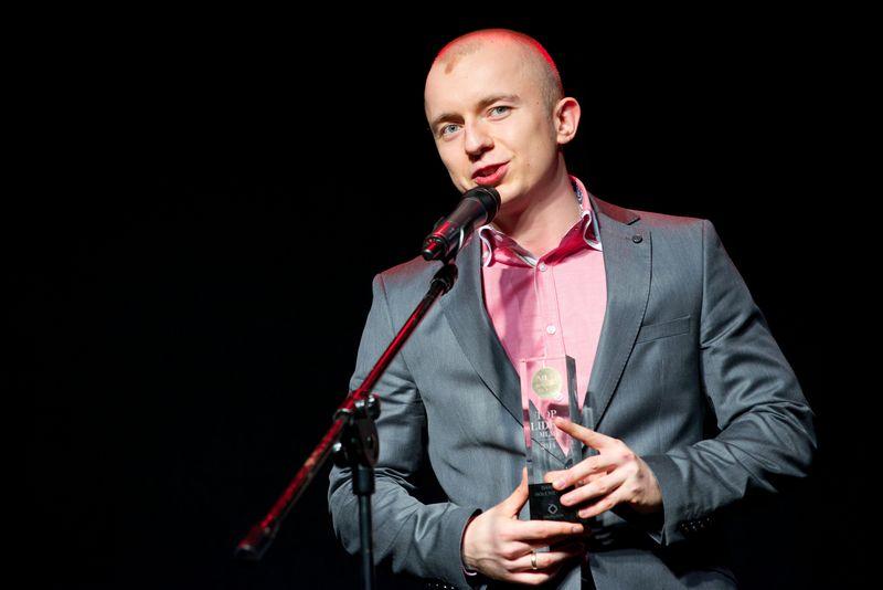 Dariusz Holeniewski podczas gali MBA 2014