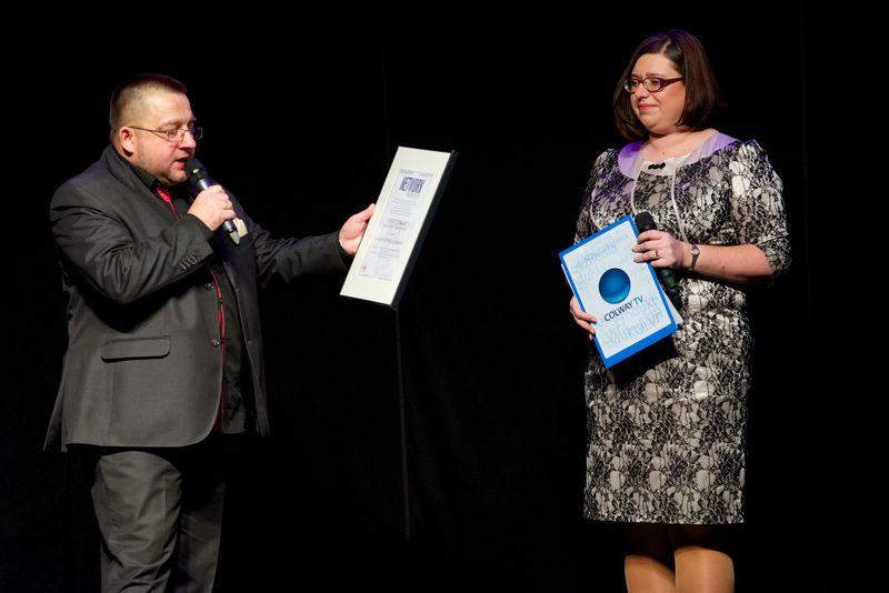 Maciej Maciejewski i dr Alina Vogelgesang