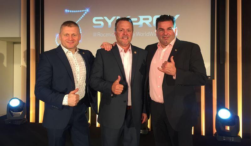 Od lewej: Piotr Gotowicki, Mark Comer, Dietmar Dahmen