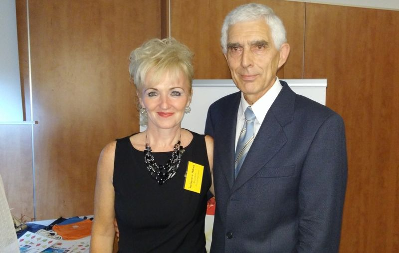 Dyrektor generalna Milada Steinerova & dr Lubomir Meravy