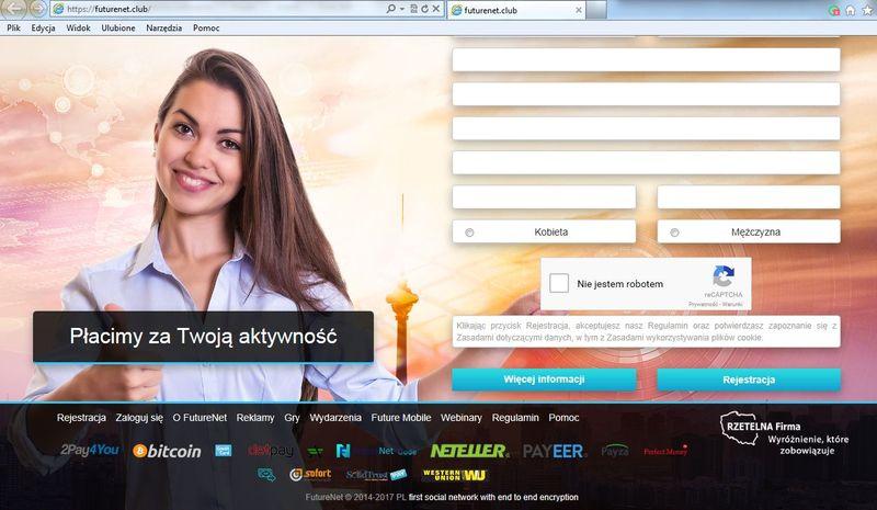 źródło: screen portalu Futurenet.club (06.02.2017 godz. 18:01)