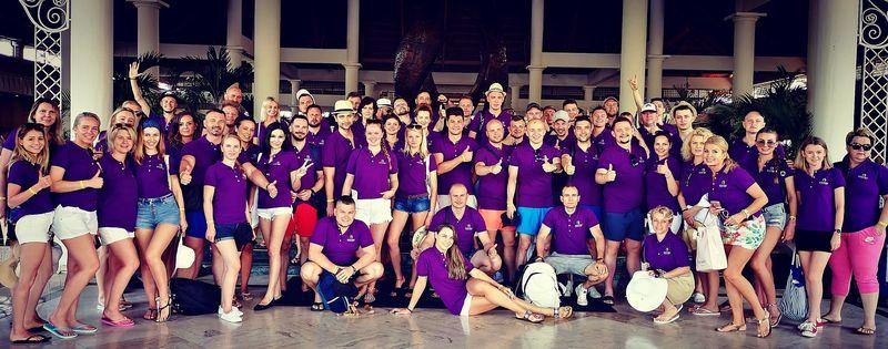 Grupa z Souvre Internationale na Dominikanie